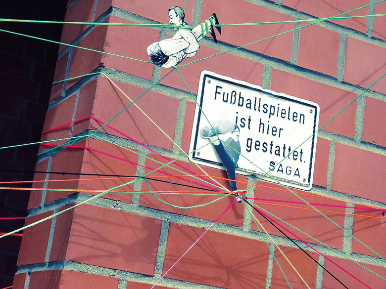 Urban Art in Langenhorn, Foto: Sarah Hamann