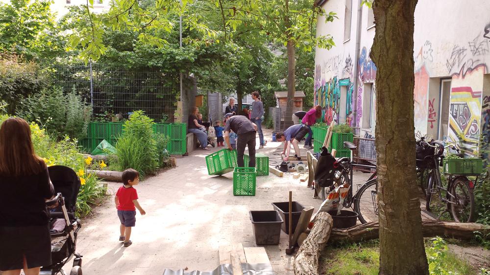 MOTTE-Nachbarschaftsgarten, Foto: Fabian Berger