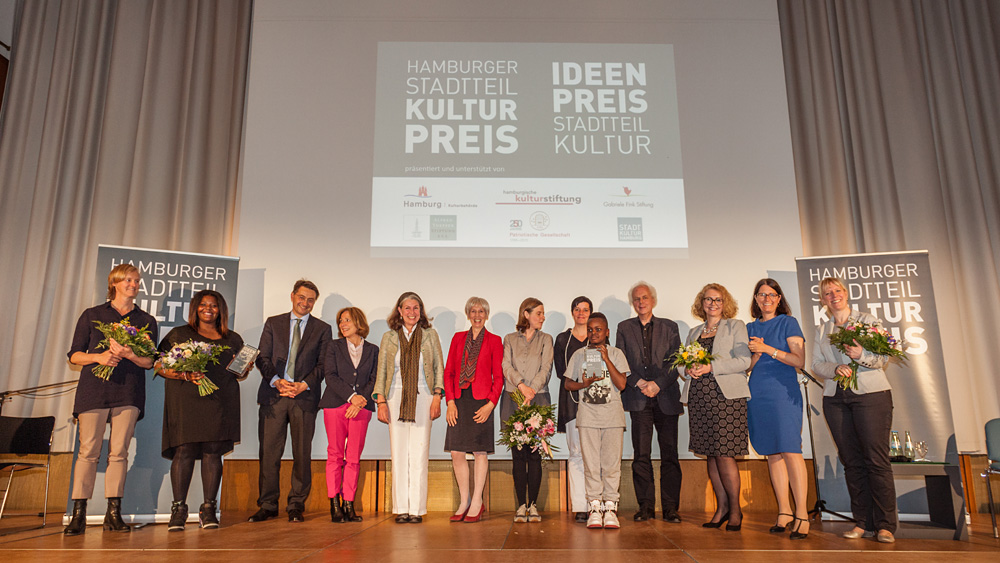 Senatorin, Gewinner, Preisstiftern und Jury, Foto: Jo Larsson, www.jolarsson.com