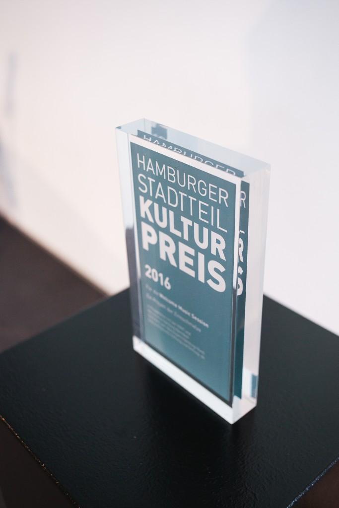 Der Award des Hamburger Stadtteilkulturpreises 2016, Foto: Jo Larsson