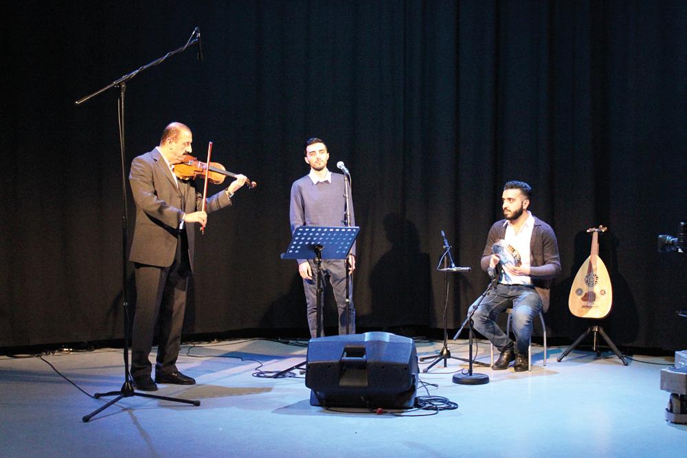 """Spirit of the East"" beim Konzert im TIDE-Aufnahmestudio, Foto: Lars Corssen"