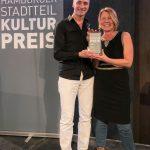 Die glücklichen Gewinner des Hamburger Stadtteilkulturpreises 2018